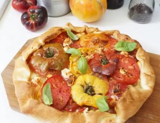 tarte rustiques tomates anciennes recette