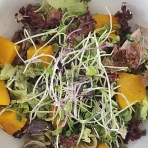 salade d'automne au potimarron rôti recette