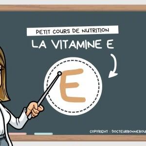 vitamine E tocophérol bienfaits santé