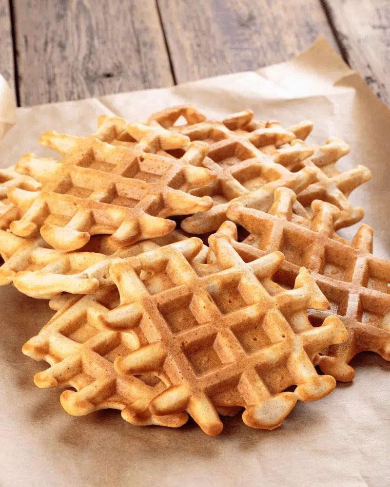 gaufres salées sans beurre recette