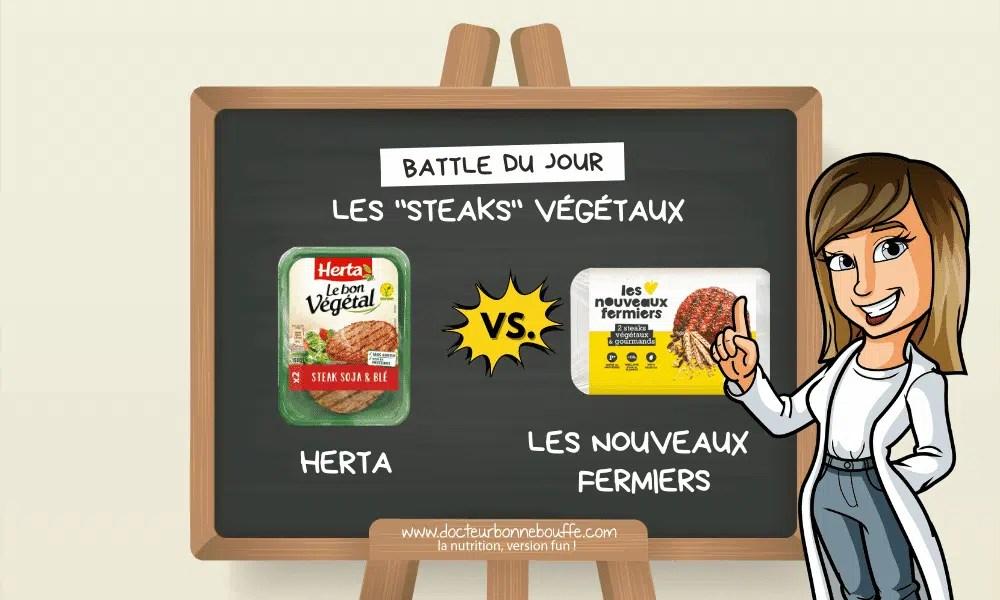 steaks végétaux avis