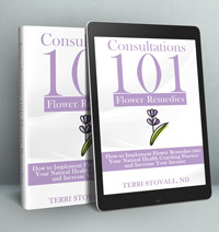 Consultations 101 Flower Remedies book cover