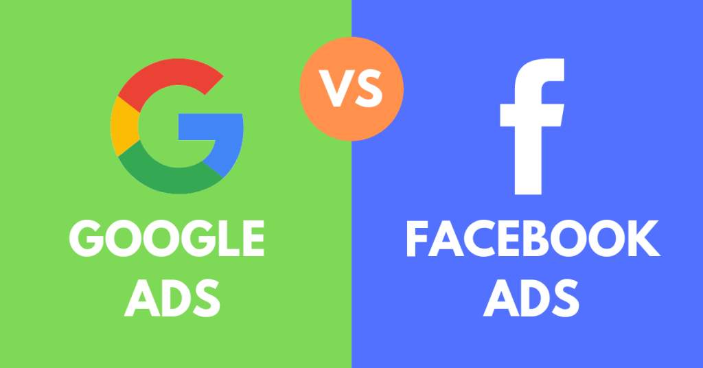 Facebook AD vs Google Ad