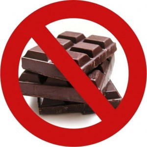 Image result for no chocolate