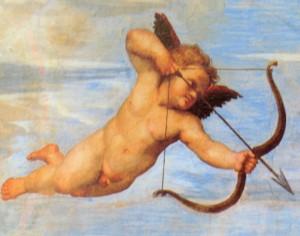 Todos podemos recibir la flecha de Cupido...