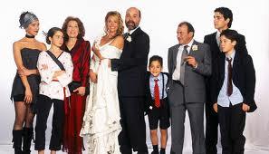 """En """"Los Serrano"""" cada uno aportaba hijos de su anterior relación. ¿Será todo tan idílico como en la serie?"""