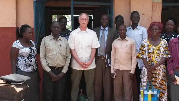 Bidong school teachers and Robert Owot