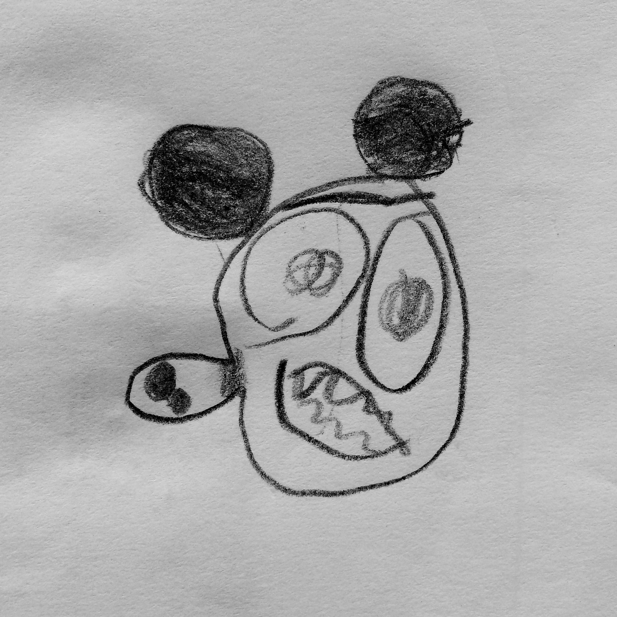 Copiar De Faciles Para Colorear Animados Dibujos
