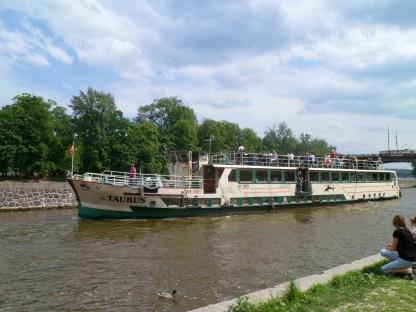 River boat, Prague May 2012