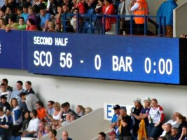 Rugby sevens score at Glasgow 2014 Commonwealth Games