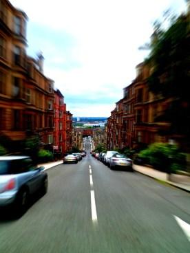 Gardner Street in the Partick area of Glasgow