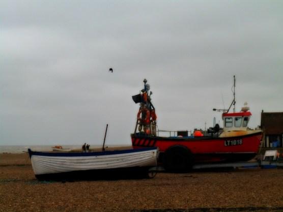 Fishing boat in Aldeburgh