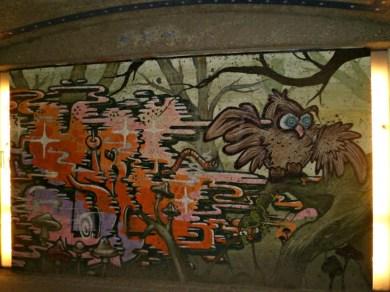 Underpass street art in Munic