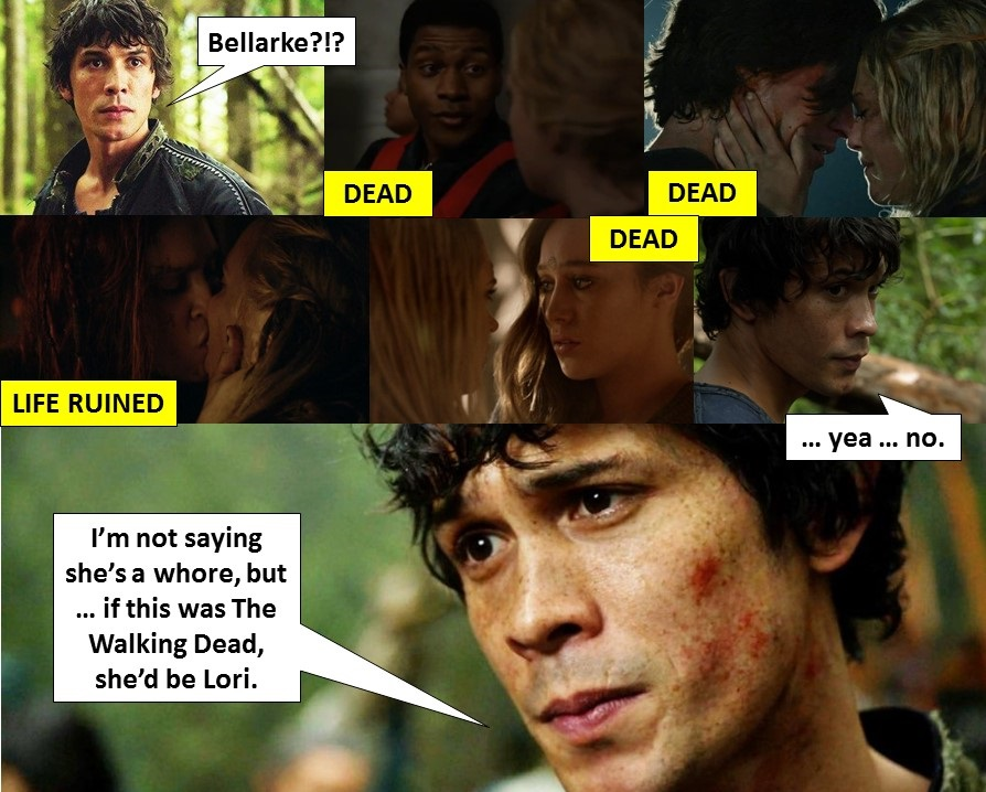 The Walking Dead vs The 100: The Truth about Bellarke