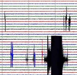 Seismograph readout