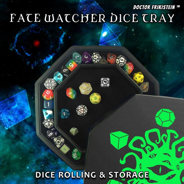 Fate Watcher Dice Tray Bandeja Dados Rol RPG