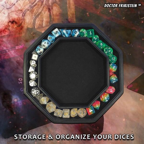 Fate Watcher Dice Tray Bandeja Dados Rol RPG Caja Almacena Box Storage