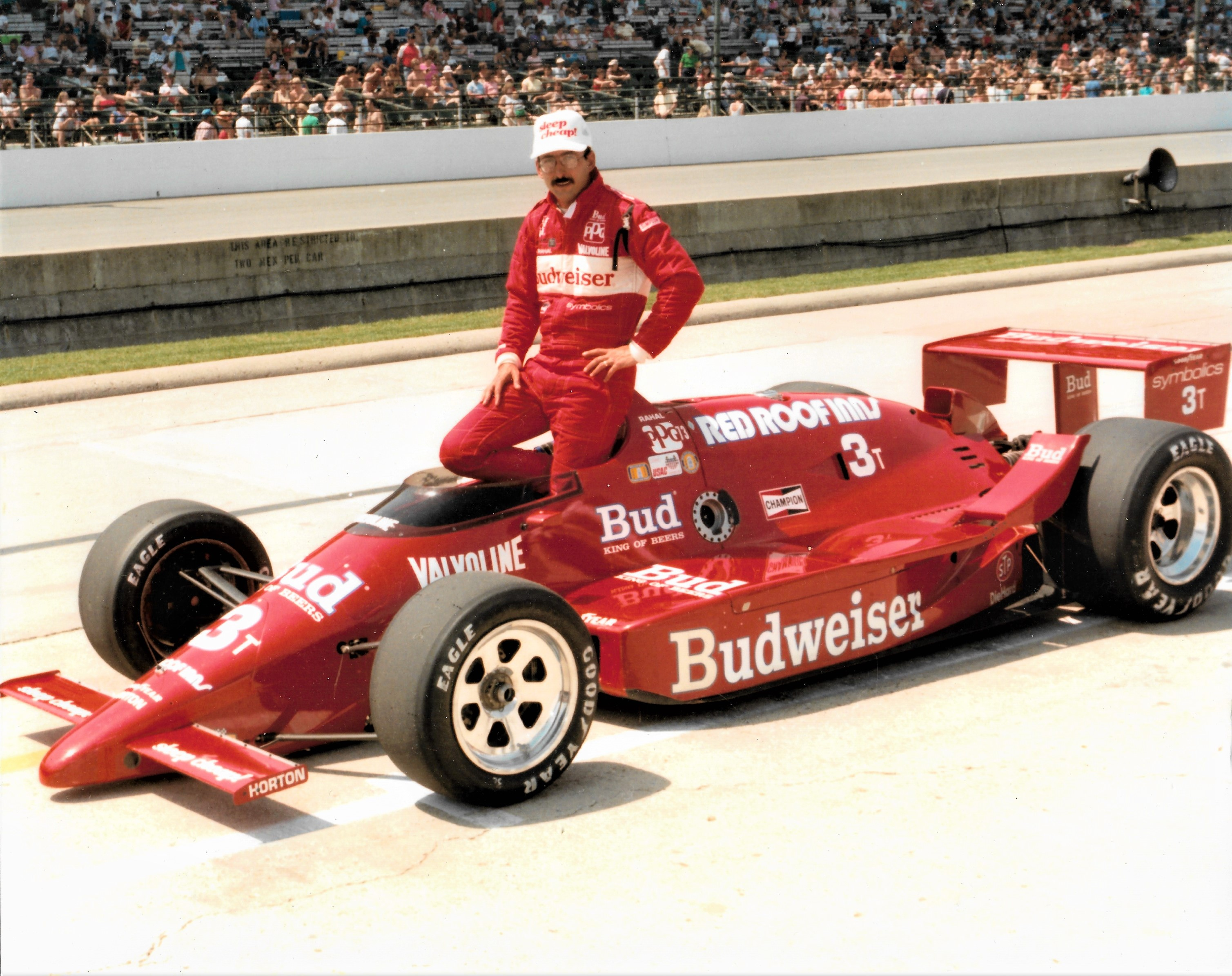 Bobby Rahal - 1986 Budweiser Truesports March/Cosworth
