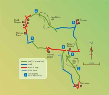 Dorset Life Walk - 7¾ miles