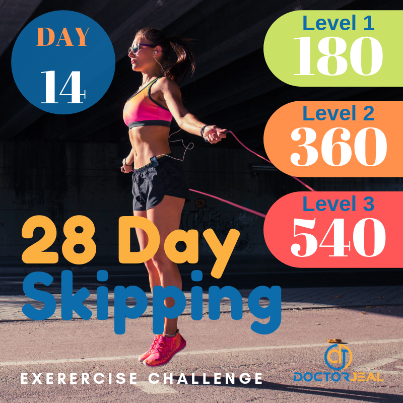 28 Day Skipping Challenge Day 14