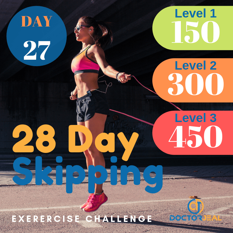 28 Day Skipping Challenge Day 27