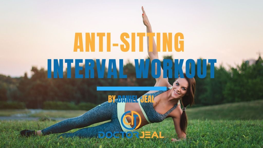 Work from Home (WFH) anti-sitting Interval Workout Title Female