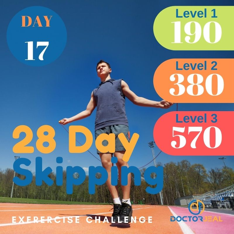 28 Day Skipping Challenge - Male Day 17