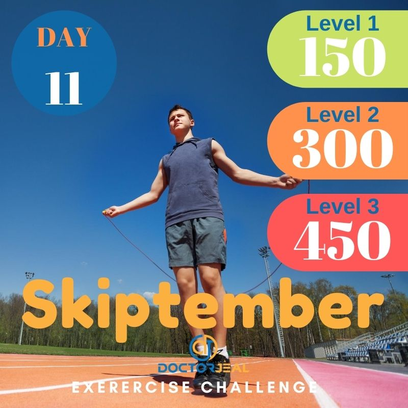 Skiptember Skipping Challenge - Male Day 11