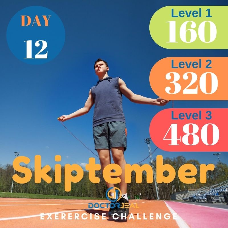 Skiptember Skipping Challenge - Male Day 12