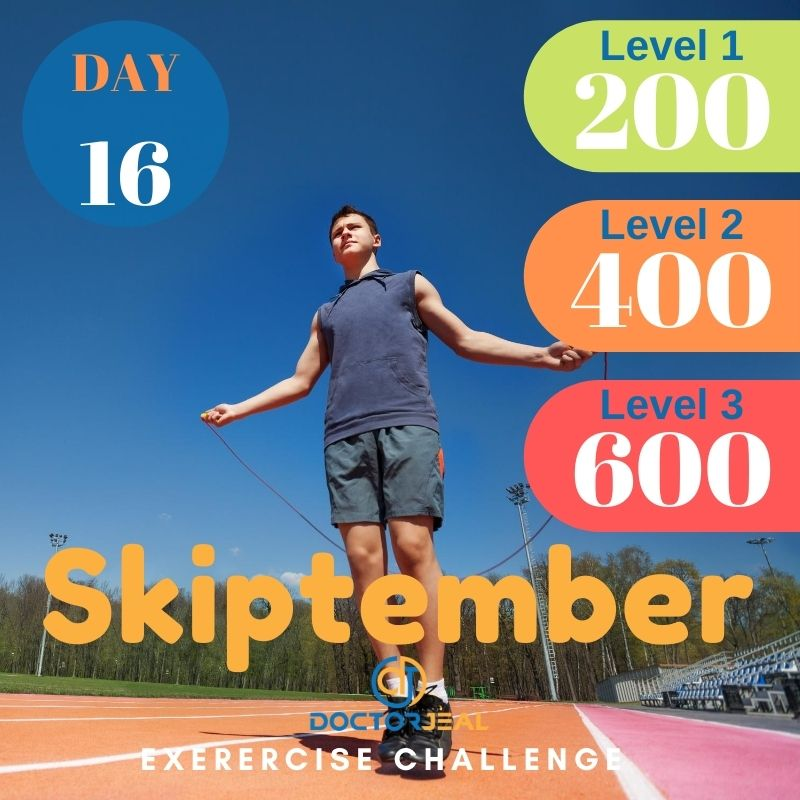 Skiptember Skipping Challenge - Male Day 16
