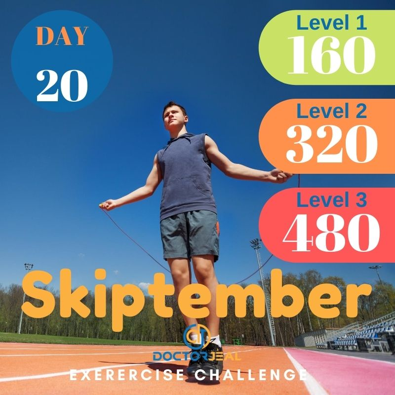 Skiptember Skipping Challenge - Male Day 20