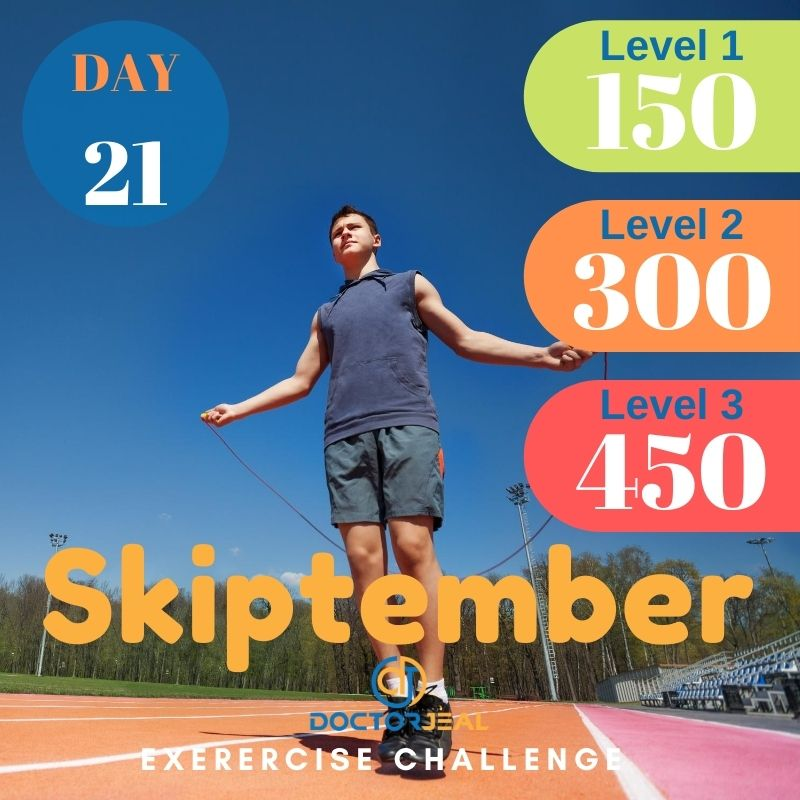 Skiptember Skipping Challenge - Male Day 21