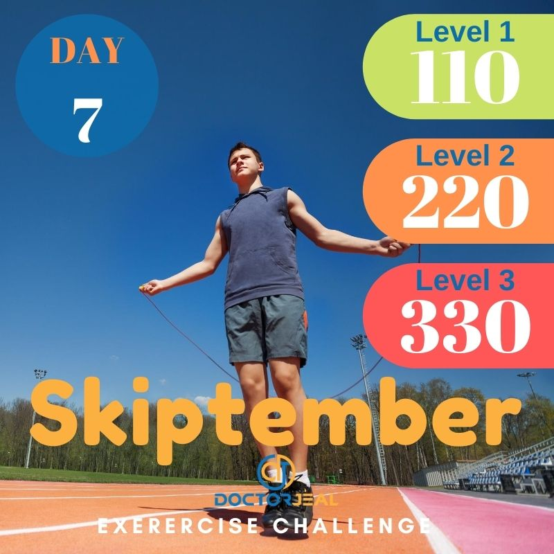 Skiptember Skipping Challenge - Male Day 7