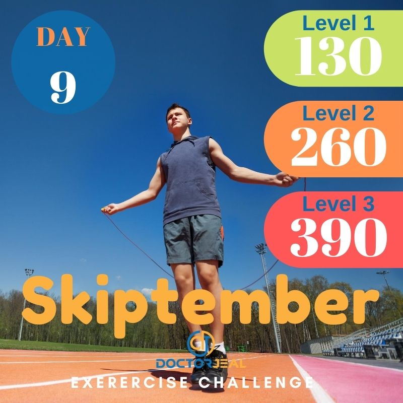 Skiptember Skipping Challenge - Male Day 9