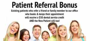Image of Dentist Referral offer naperiville dentist