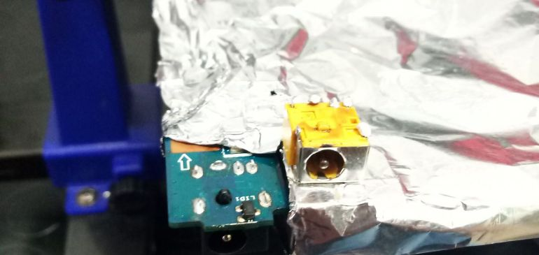 Reparacion conector ASUS