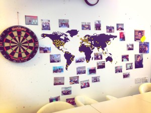 Mendeley travel wall