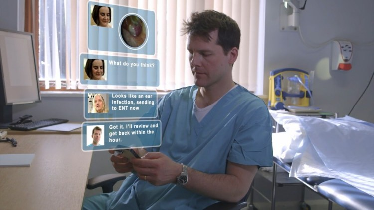 The Cupris app works cross-speciality and can easily be used for ENT advice or referrals