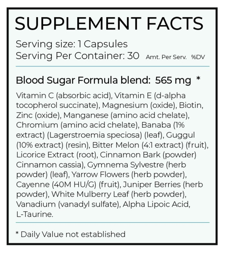 Blood-Sugar-Formula-ingredients