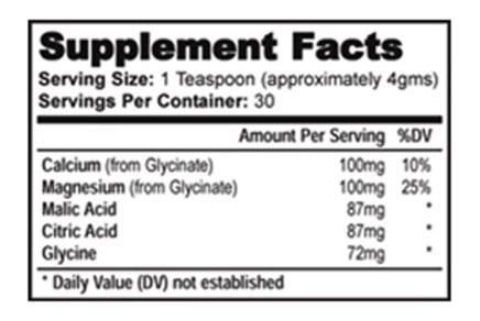 Hypercet Blood Pressure Formula ingredients
