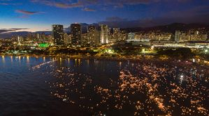 Lantern Lighting Ceremony, Oahu