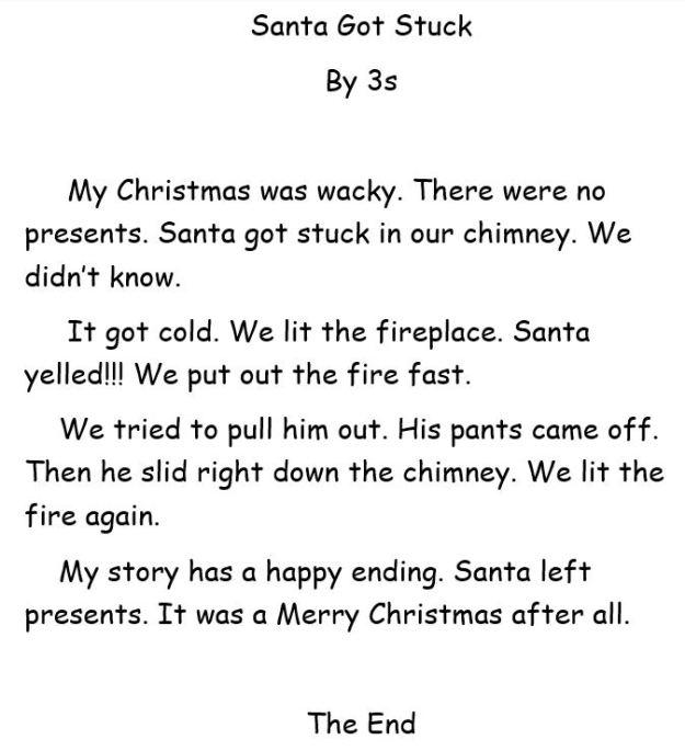 Santa Got Stuck