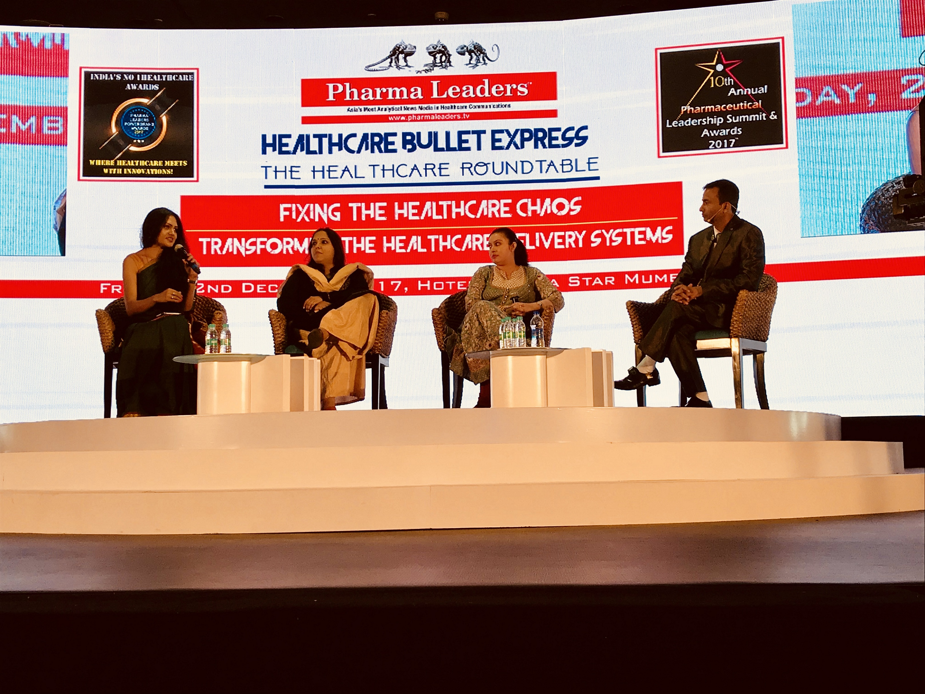 Panel Discussion at Pharmaceutical Leadership Summit & Awards 2017