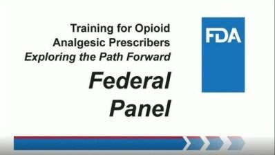 FDA Workshop on Prescriber Education