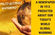 A Newspaper in 1912 predicted About our Today's World Global Warming