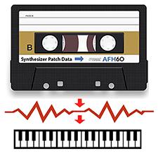 Cassette Synthesizer Data