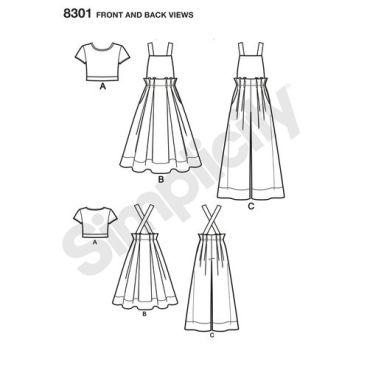 simplicity-sportswear-pattern-8301-front-back-view
