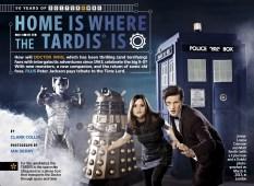 """""""El hogar es donde está la TARDIS""""."""