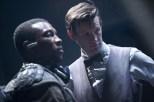 Uno de los Van Haleen y el Doctor.