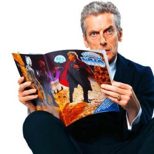Peter Capaldi reading Doctor Who Email Newsletter